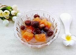 木瓜红枣花生饮