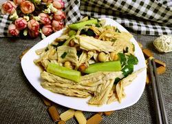 腐竹黄瓜清拌花生米