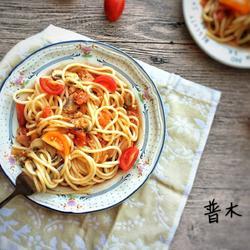 蕃茄蘑菇肉酱