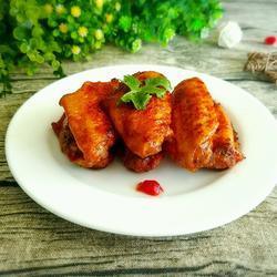 番茄酱鸡翅