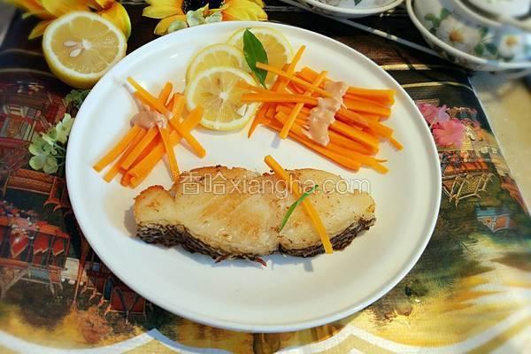 柠汁银鳕鱼
