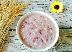 红豆薏米麦片粥