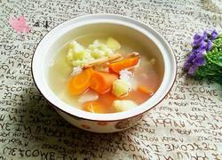 党参花椰菜胡萝卜汤