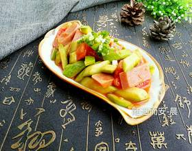 西葫芦炒西红柿[图]
