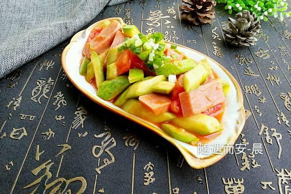西葫芦炒西红柿