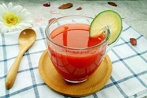柠檬西瓜汁