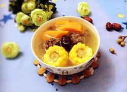 玉米红萝卜煲鸡汤