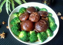 香菇炒西兰花