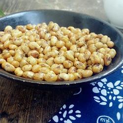 五香椒盐酥黄豆