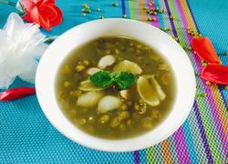 绿豆薄荷汤