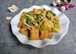 油豆腐炒瘦肉