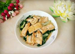 小白菜炒豆腐