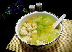 冬瓜牛肉丸子汤