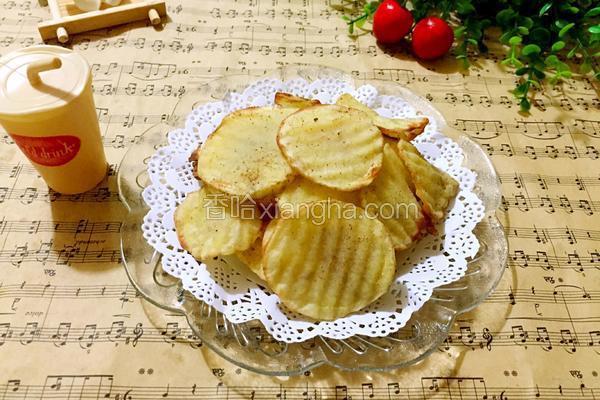 电烤箱烤薯片