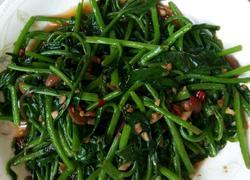 水豆豉炒豆腐菜