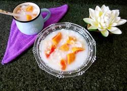 木瓜银耳炖牛奶