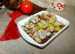 蛤蜊炒冬瓜