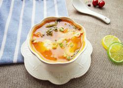 西红柿肉片汤
