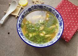 生菜腐竹汤