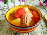 番茄土豆排骨汤的做法[图]