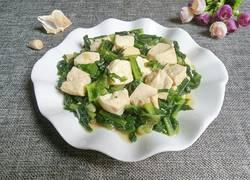 油麦菜炖豆腐