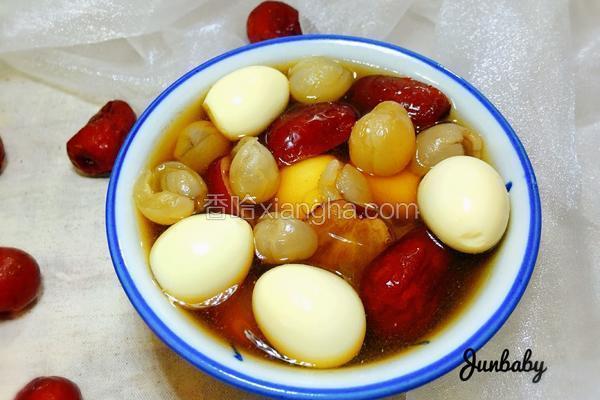 红枣桂圆鹌鹑蛋