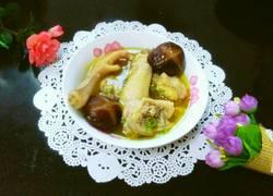 电饭锅香菇鸡汤