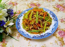 黄豆芽炒粉条