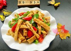 辣椒炒豆腐干
