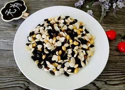黑豆杏仁杂拌菜
