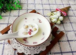 花生牛奶汤