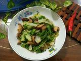 小白菜炒香菇的做法[图]