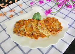 花生紫甘蓝煎饼