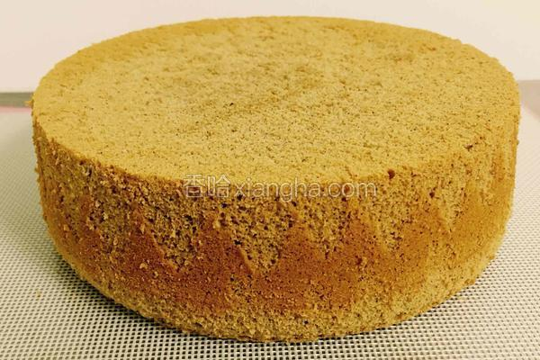 奶香咖啡蛋糕8寸加厚