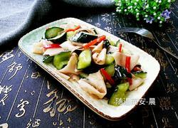 黄瓜拌豆腐皮