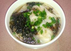 紫菜虾皮猪肉火腿云吞