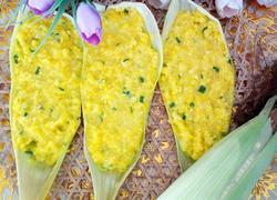 鲜玉米叶饼