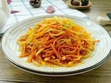 红萝卜土豆丝的做法[图]