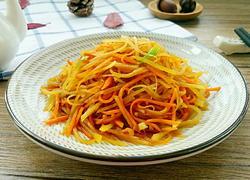 红萝卜土豆丝