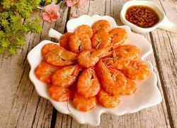 家常水煮大虾