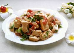 香肠炒豆腐