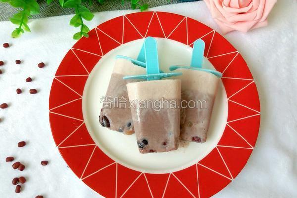 牛奶红豆冰棒