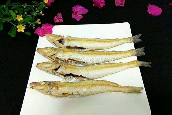干煎沙丁鱼