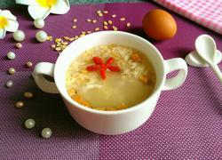 燕麦鸡蛋粥