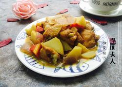 土豆咖喱鸡翅