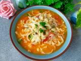 番茄鸡蛋汤面的做法[图]