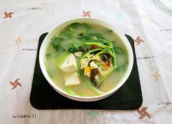 白苋菜豆腐滚双蛋