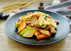 杏鲍菇胡箩卜炒肉