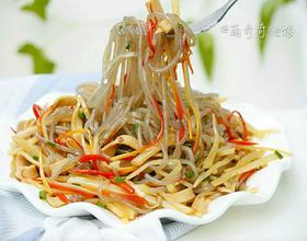 土豆丝炒粉条[图]