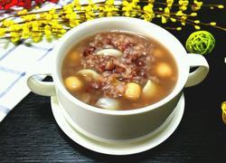 红豆百合莲子粥